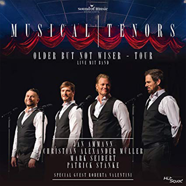 "CD-Cover ""Musical Tenors"""