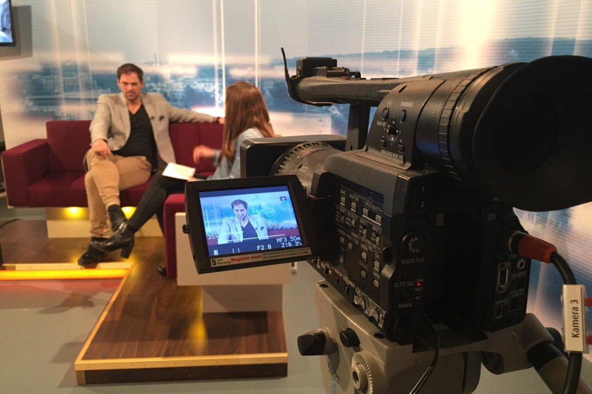 Patrick live im Interview mit STUDIO 47