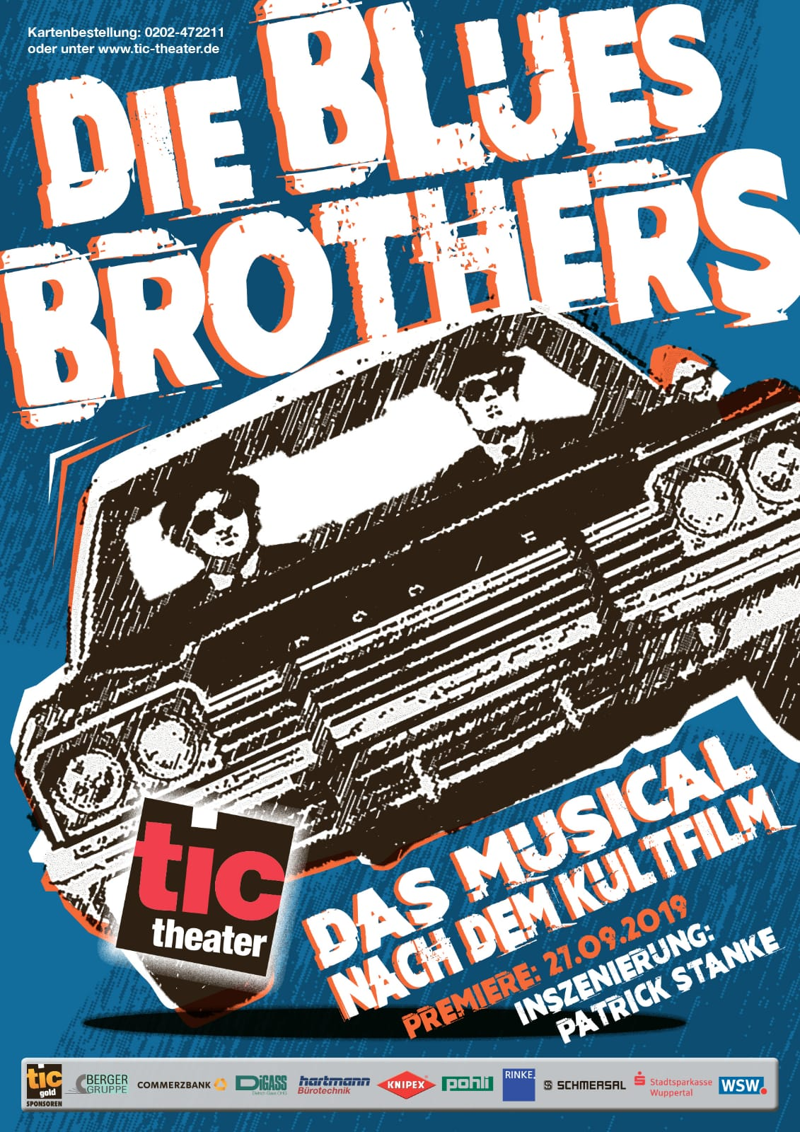 Die Blues Brothers - TiC Theater Wuppertal